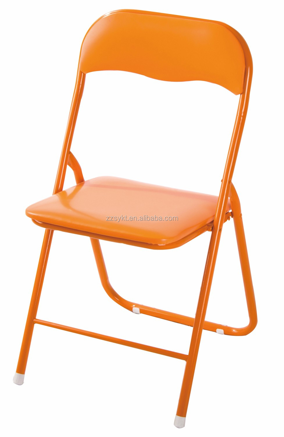 Cheap Metal Folding Chairs With Pvc Seat And Back For Sale