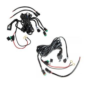 22'' Dual Color Remote Control Led Light Bar Offroad