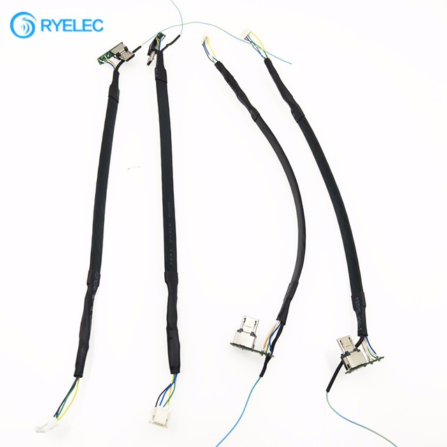 Custom Camera Usb Flat Cat6 Ethernet Cable With Hirose