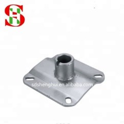 Swivel Chair Parts Graco Simple Switch High Barber Seat Plate Base Metal Plates K82c