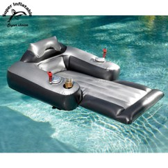 Motorized Easy Chair Marilyn Monroe Vanity Electric Water Inflatable Floating Lounger Pool Lounge With Motor Toy For Adults