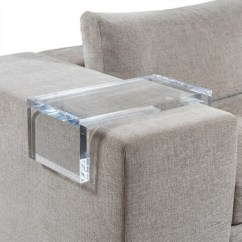 Sofa Arm King We Todd Did Clear Acrylic Arms Buy Tray