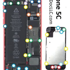 Iphone 4 Screw Layout Diagram Vw Bora Fuse Box Cheap Chart Find Deals On Line At Alibaba Com Get Quotations 5c Cyberdoc Mmagnetic Mat For Llc Usa