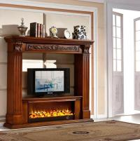 Decorative Electric Fireplace Tv Stand Fireplace Wood ...