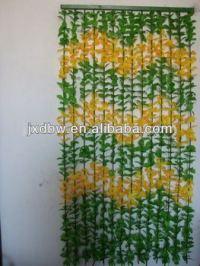 Hanging Plastic Decorative Door Beads Flower Curtains ...