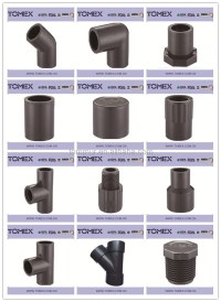 2016 All Types 20-90mm Male Female Pvc Pipe Female Union ...