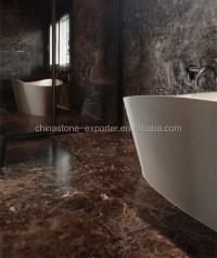 Emperador Dark Marble Floor And Wall Tile - dark brown ...