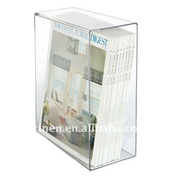 acrylic book box plexiglass