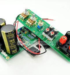 get quotations sub 150w 8ohm subwoofer amp circuit board 35 150hz amlifier no heatsink [ 1500 x 1000 Pixel ]