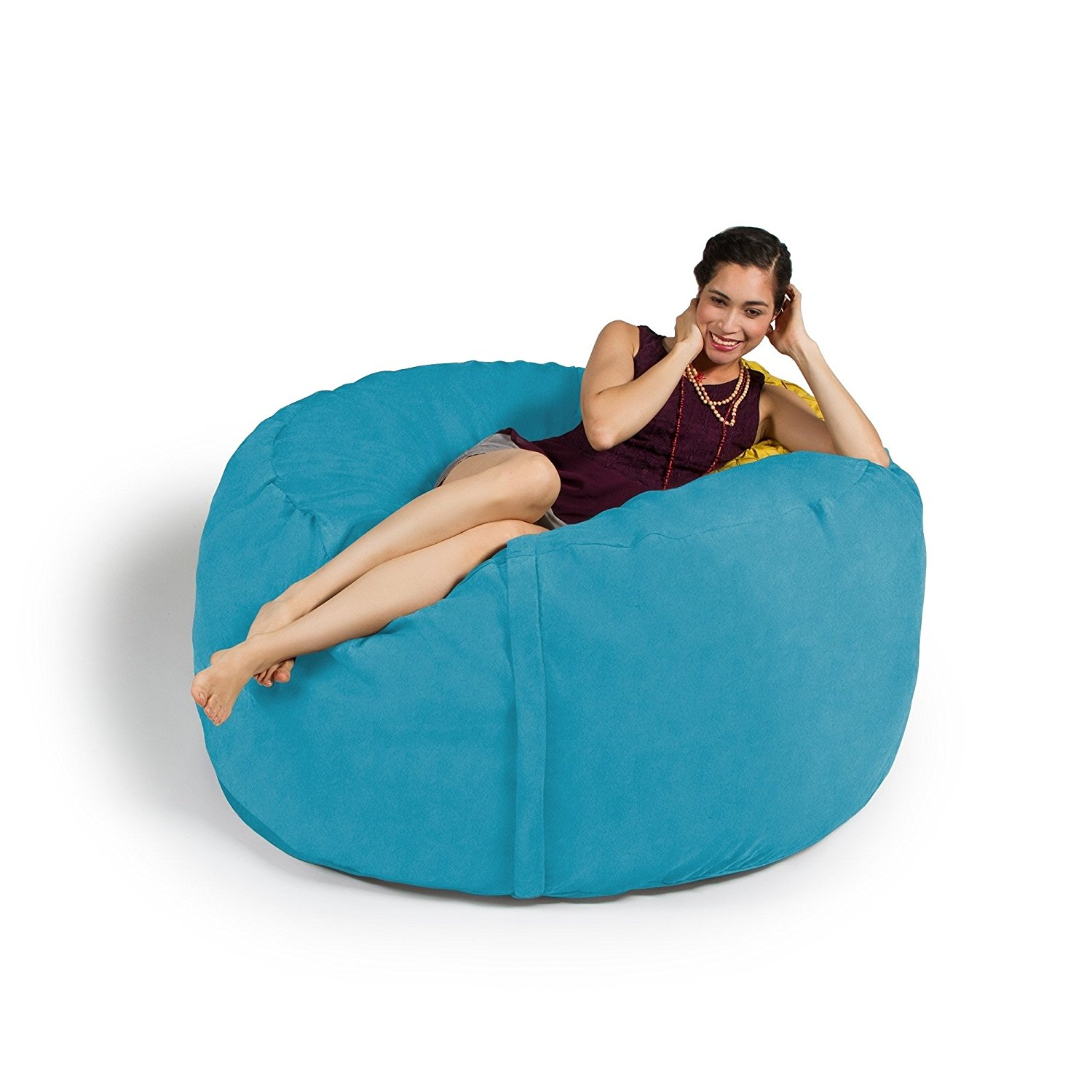 jaxx bean bag chairs poang chair instructions cheap find deals on line at alibaba com get quotations bags 5 ft giant teal