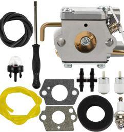 get quotations dalom 791 182875 carburetor w air filter fuel line for bolens bl150 bl100 bl250 trimmer [ 1000 x 1000 Pixel ]