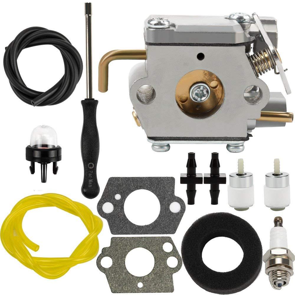 hight resolution of get quotations dalom 791 182875 carburetor w air filter fuel line for bolens bl150 bl100 bl250 trimmer