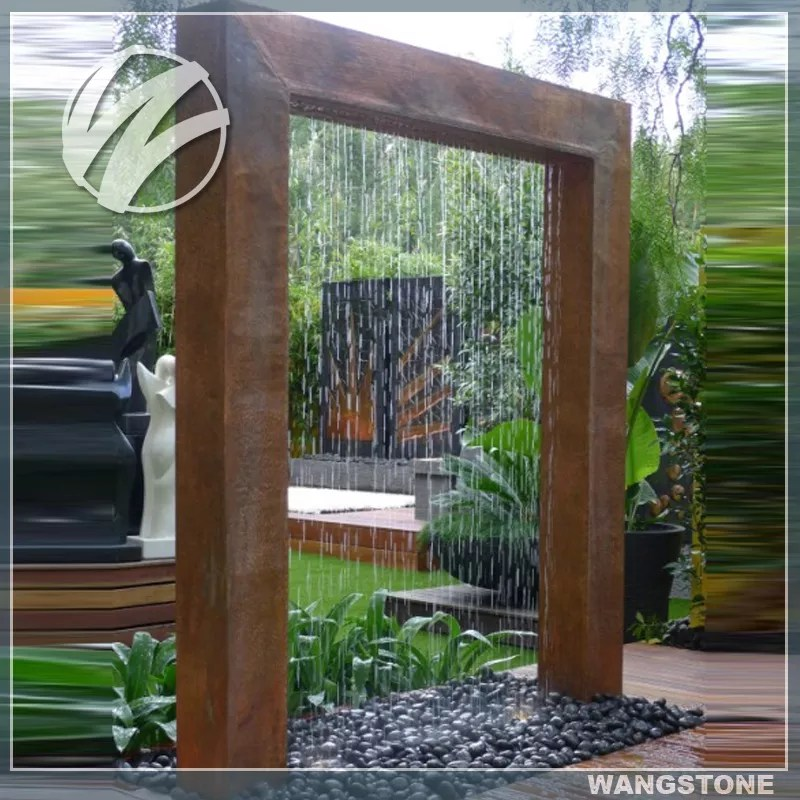 rideau de pluie impermeable en metal pour l exterieur cordon en acier pour jardin fonction d eau buy caracteristique d eau de jardin caracteristique