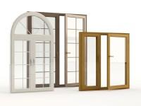 Pvc Arched Top Window Round Design Swing Casement Window