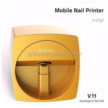 Intelligent Automatic 3d Finger Nail Art Printing Machine In Mobile Phone App