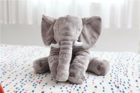Popular Cheap Stuffed Plush Elephant Shape Pillow Baby ...