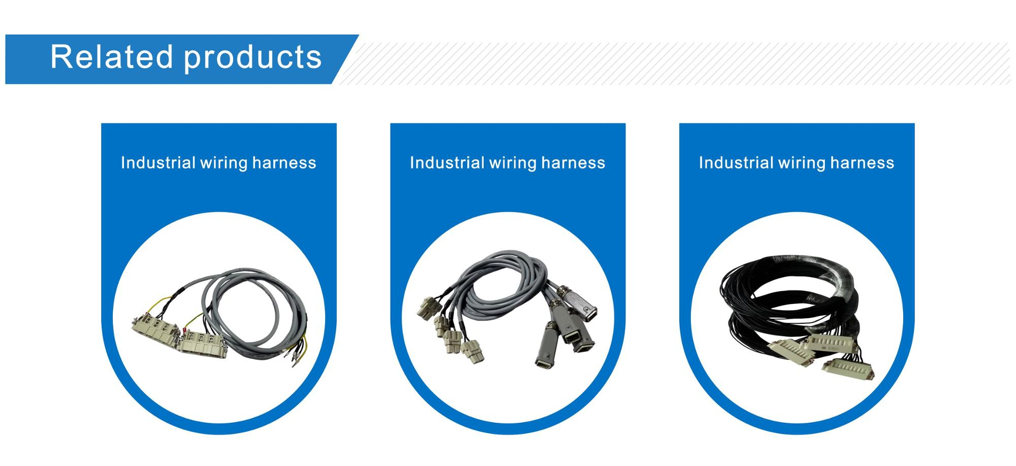 hight resolution of harting heavy duty connectors 19300100527 industrial wire harness for industrial robot
