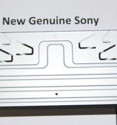 new oem genuine sony frame assy assembly part x25839621 fitting for cdx g1100u cdx  [ 1236 x 689 Pixel ]