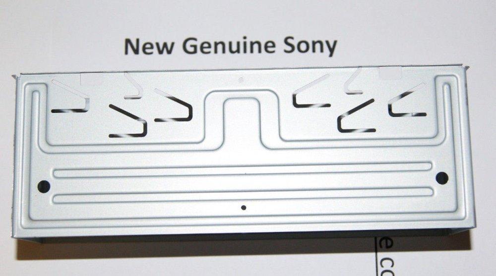 medium resolution of new oem genuine sony frame assy assembly part x25839621 fitting for cdx g1100u cdx