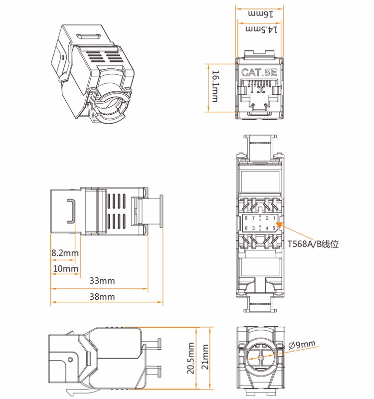 cable wiring diagram together with rj45 cat 6 keystone jack wiring
