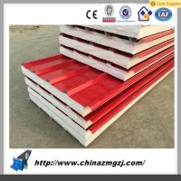Pu Insulated Sandwich Panels Fire Resistant Fiberglass ...