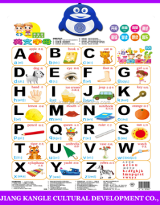 New design low price kids learning english talking wall chart audio charts with alphabet also rh alibaba
