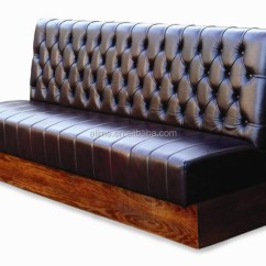 Restaurant Sofa Booth Seating Modern Recliner Sectional Alime Bench Seat - Buy ...