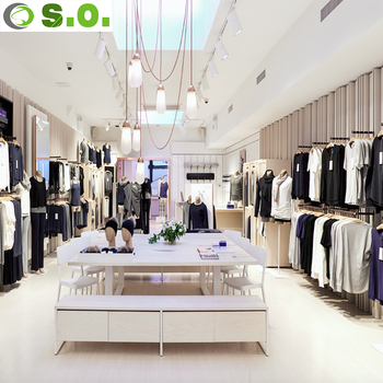 Clothes Showroom Interior Design Decoratingspecial Com