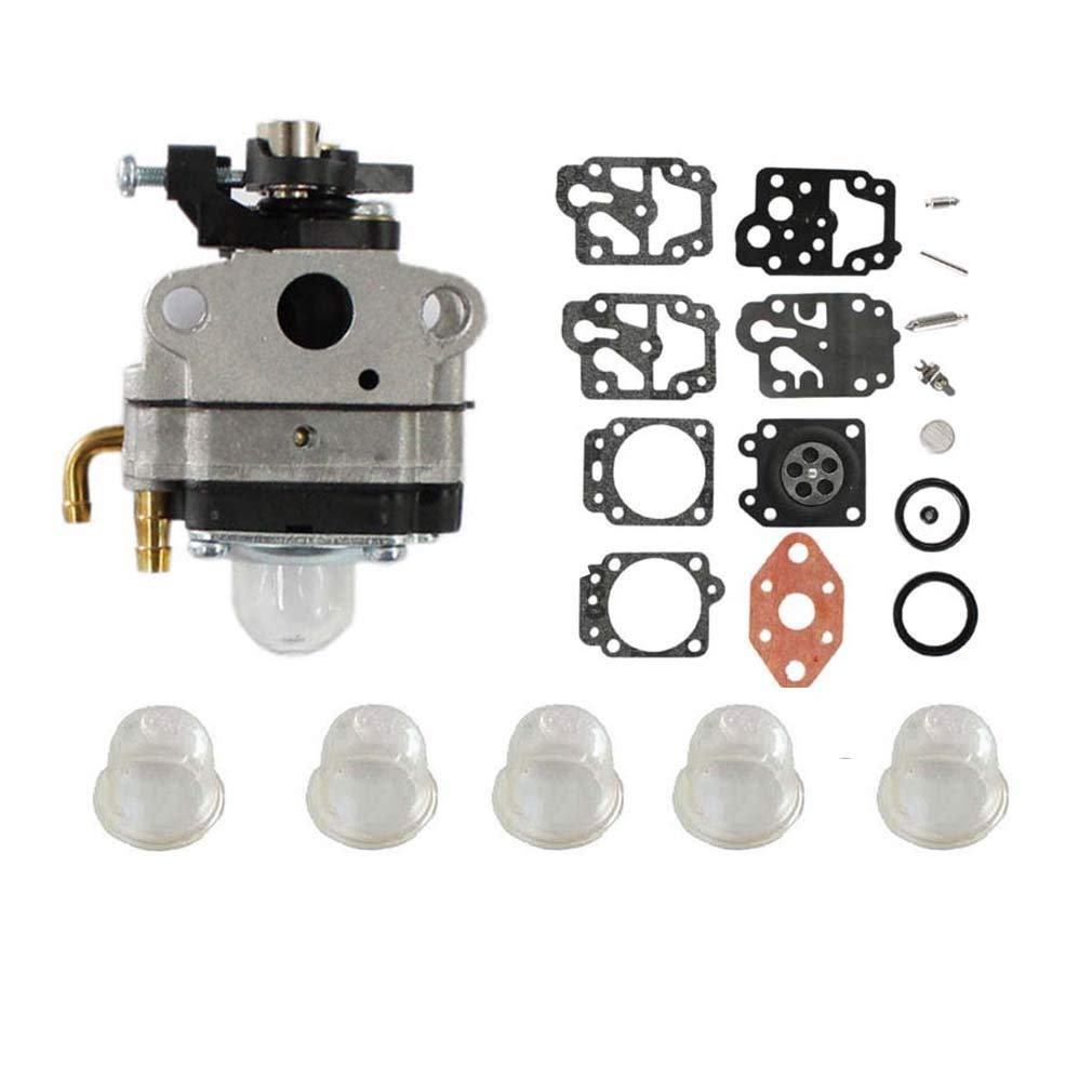 hight resolution of get quotations aisen carburetor with repair kit primer bulb for 753 1225 753 04745 753