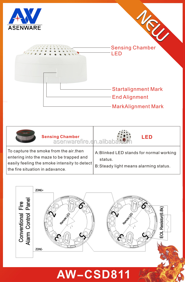 medium resolution of smoke detector wiring connect alarm bell with fire alarm system smoke detector