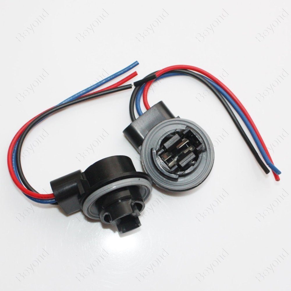medium resolution of get quotations byopto 2 pcs 3157 female car auto truck headlight fog brake turn signal light