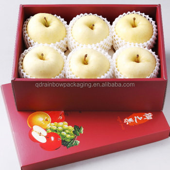 Apple Fruit Packaging BoxesCardboard Boxes For Fruit