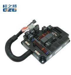 excavator spare parts 37b1440 fuse box assembly [ 1000 x 1000 Pixel ]
