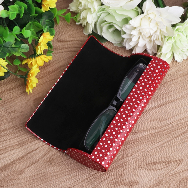 Portable Oval Hard Case Glasses Package Sunglasses Storage Box Magnetic Closure