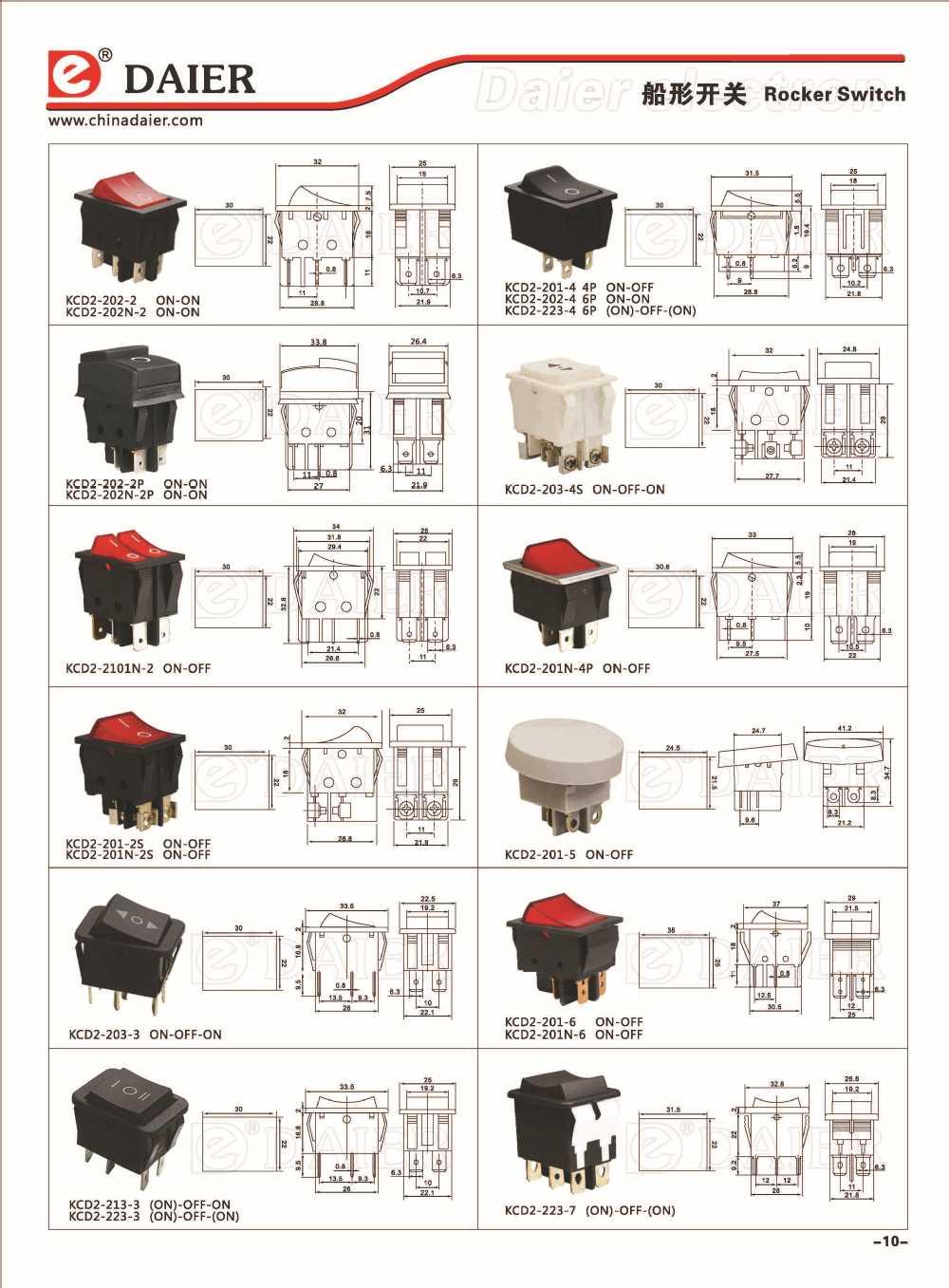 hight resolution of 4 pin rocker switch wiring diagram daier 4 pins rocker switch t120 buy