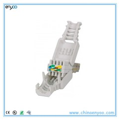 Cat5e T568a Wiring Diagram 14 Pin Relay Base Tool-less Rj45 Cat6 Utp Gigabit Ethernet Snap-in Connector - Buy Toolless ...
