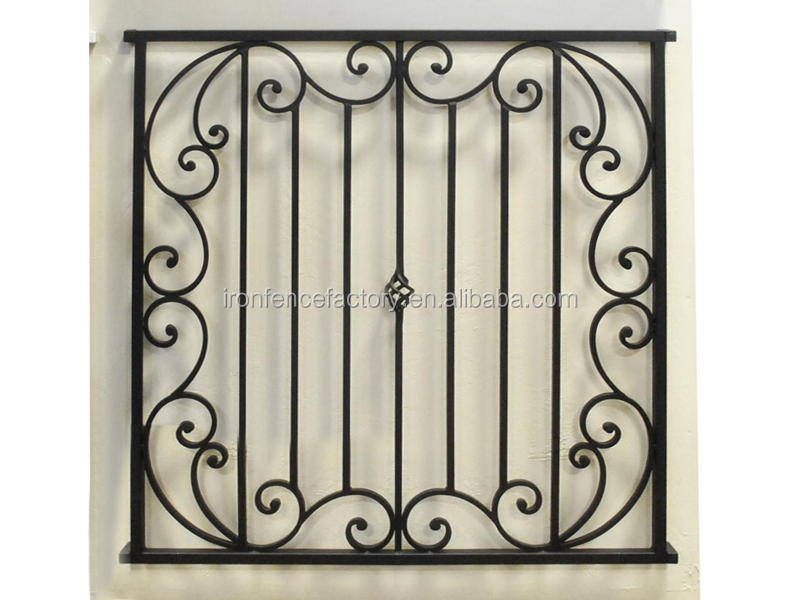 Simple Iron Window Grills Design For House Window Modern Wrought