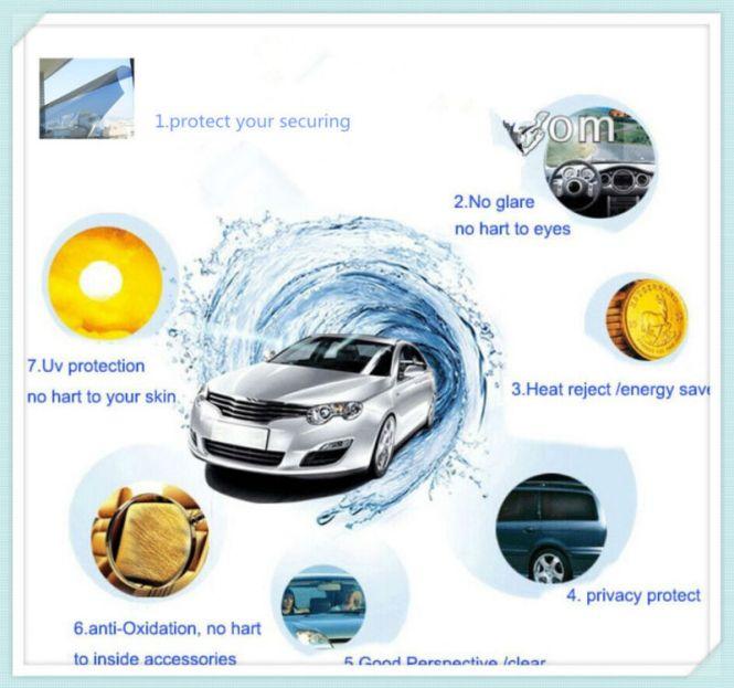 Uv Protection Nano Ceramic Car Window Tint Film Auto Gl Sun Control Decorative