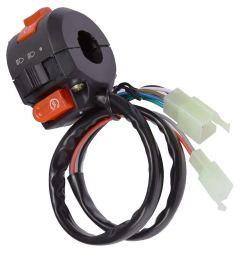 get quotations kill start switch left handlebar fits 2016 taotao 125cc 110cc chinese atv 9 wires 2 plug [ 1000 x 1000 Pixel ]