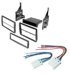 nissan altima 2005 2006 car stereo radio cd player receiver install mounting kit wire harness [ 1000 x 1000 Pixel ]