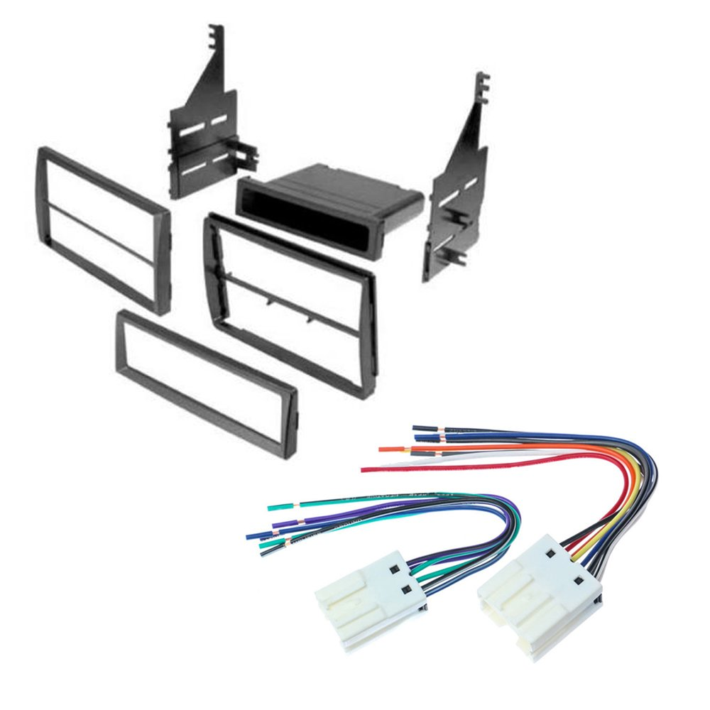 hight resolution of nissan altima 2005 2006 car stereo radio cd player receiver install mounting kit wire harness