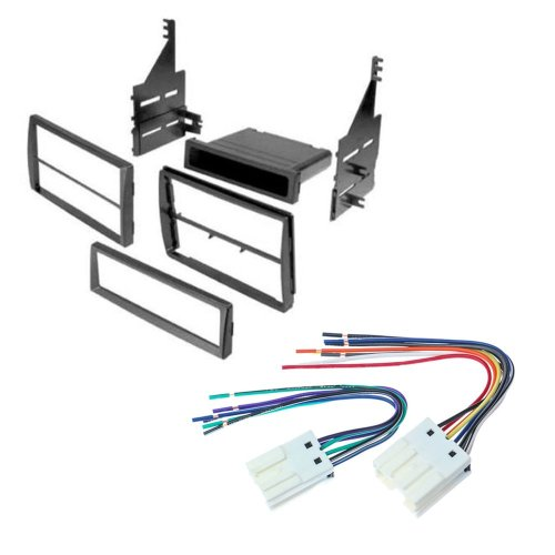 small resolution of nissan altima 2005 2006 car stereo radio cd player receiver install mounting kit wire harness