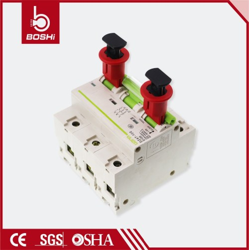 small resolution of 480v 600v brady safety air electrical circuit breaker lockout pow pin out wide