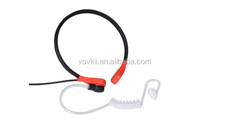 Newest Products High Quality Throat Tube Wireless Headset