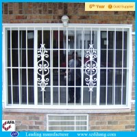 Window Steel Grill Design / Simple Steel Window Grill