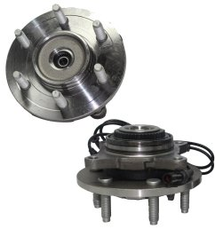 get quotations detroit axle brand new front driver and passenger side wheel hub and bearing assembly fits 2003 [ 1024 x 1024 Pixel ]