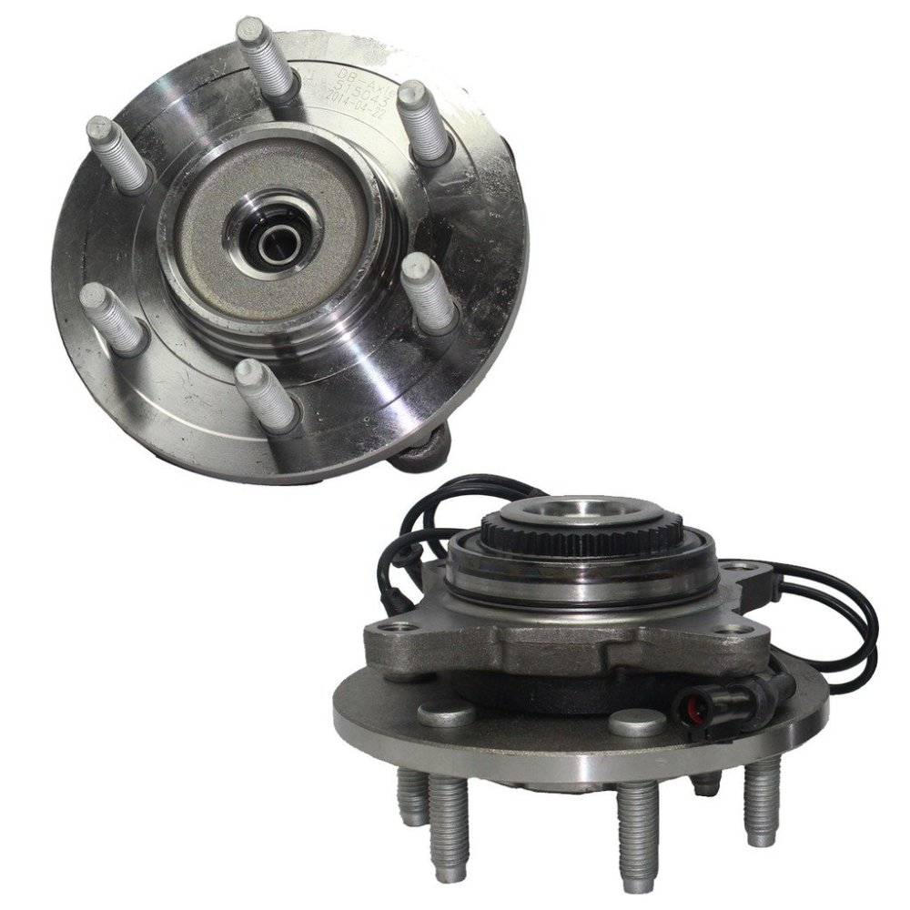 medium resolution of get quotations detroit axle brand new front driver and passenger side wheel hub and bearing assembly fits 2003