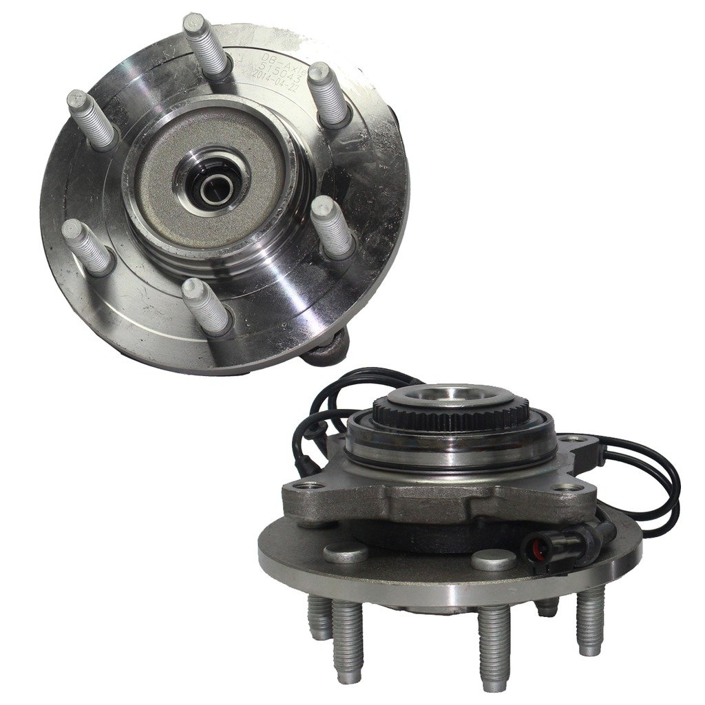 hight resolution of get quotations detroit axle brand new front driver and passenger side wheel hub and bearing assembly fits 2003