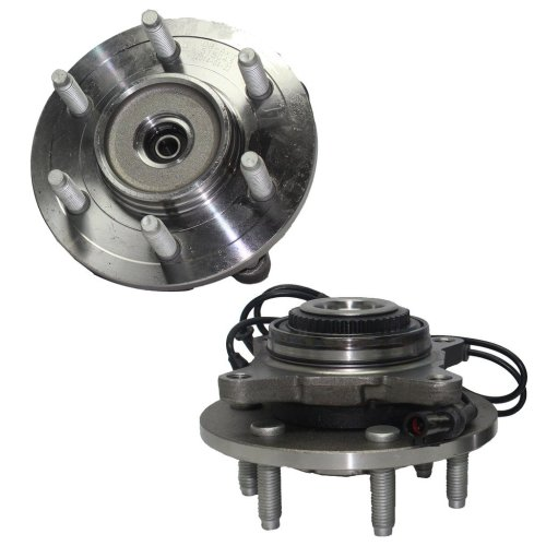small resolution of get quotations detroit axle brand new front driver and passenger side wheel hub and bearing assembly fits 2003
