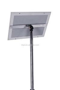 Metal Pedestal Sign Holder For Restaurant Menu Holder ...